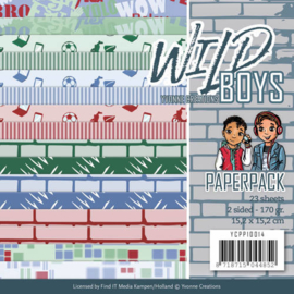 Paperpack - Yvonne Creations - Wild Boys YCPP10014