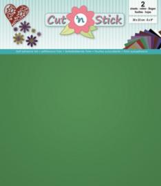 Cut 'n Stick 2x Mirror Green 20x23 3.0504