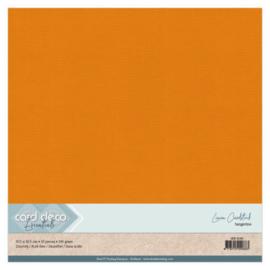 Linen Cardstock - SC - Tangerine LKK-SC66