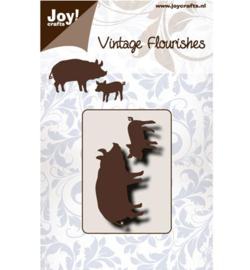 Joy Crafts Vintage Flourishes 6003/0078