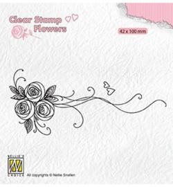 Nellie FLO020 - Bouquet roses-1