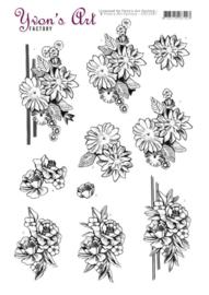 3D Cutting Sheet - Yvon's Art - Condolence 2 CD11547