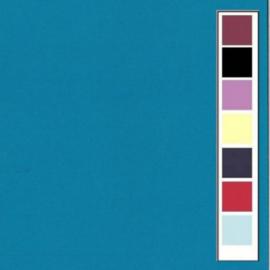 LinnenArt kaartkarton 30,5 x 30,5 Turquoise 40 LKK-SC40