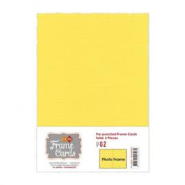 Frame Cards - A5 - Kanarie geel FC-A5PF06