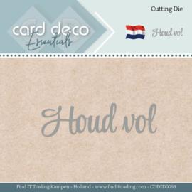 Card Deco Essentials - Dies - Houd vol CDECD0068