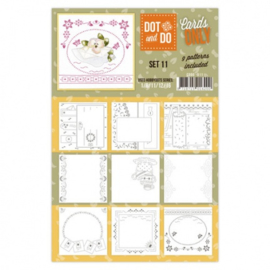 Dot & Do - Cards Only - Set 11 CODO011