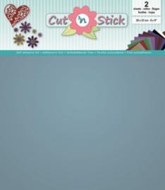 Cut 'n Stick 2x Mirror Ice 20x23 3.0505
