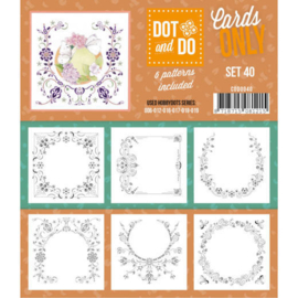 Dot and Do - Cards Only - Set 40 CODO040