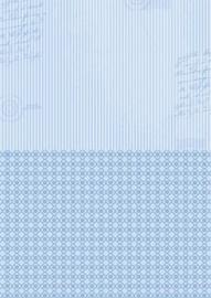 Doublesided background sheets A4 blue stripes NEVA014