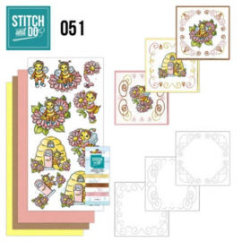 Stitch and Do 51 - Bijtjes STDO051