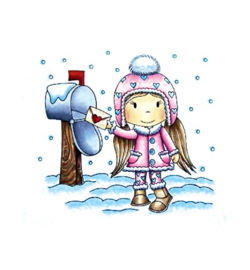 Stempel Winter Mail Avery