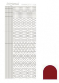 Hobbydots sticker Mirror Red 005 STDM054