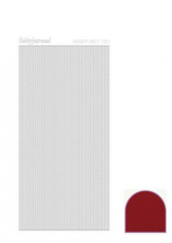 Hobbylines 001 sticker - Mirror Red HLM014