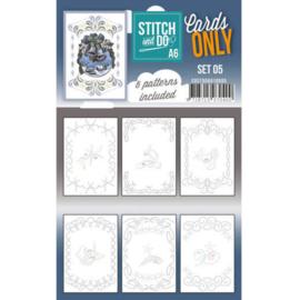 Cards Only Stitch A6 - 005  COSTDOA610005