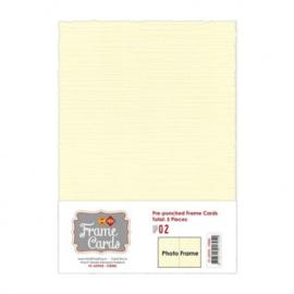 Frame Cards - A5 - Creme FC-A5PF02
