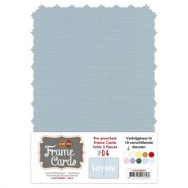 Frame Cards - Lovely - A5 - Grijs FCA51000425