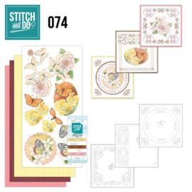 Stitch and Do 74 Vlinders en Bloemen STDO074