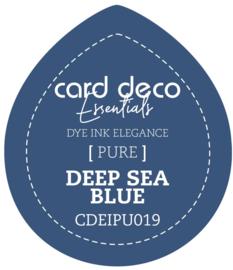 Card Deco Essentials Fade-Resistant Dye Ink Deep Sea Blue CDEIPU019