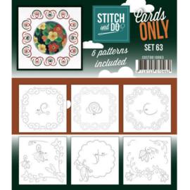 Cards Only Stitch 4K - 63 COSTDO10063