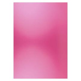 Card Deco Essentials - Metallic cardstock - Bright Pink CDEMCP012