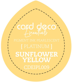 Card Deco Essentials Fast-Drying Pigment Ink Pearlescent Sunflower Yellow CDEIPL009