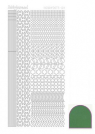 Hobbydots sticker Mirror Green 011 STDM112