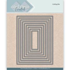 Card Deco Essentials Cutting Dies Rectangle CDECD0023