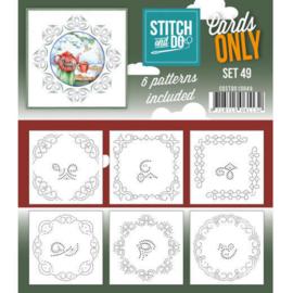 Cards only Stitch 49 - 4k - COSTDO10049