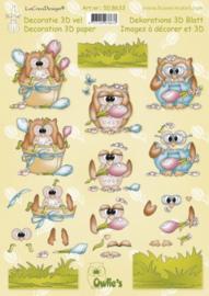 3d knipvel Leane Owls 50.8633