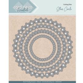 Card Deco Essentials - Nesting Dies -  Stars Circle CDECD0098
