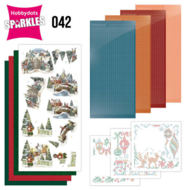 Sparkles Set 42 - Amy Design - Nostalgic Christmas - Christmas Village SPDO042