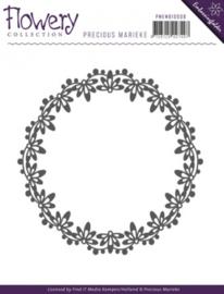 Embossing Folder - Precious Marieke - Flowery PMEMB10008