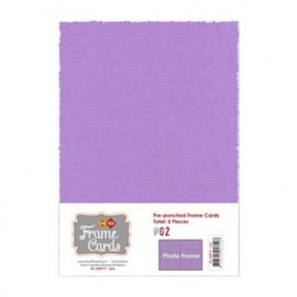 Frame Cards - A5 - Lila FC-A5PF17