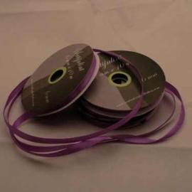6mm Satijnlint donker lila 10 meter op een rol 3242-463