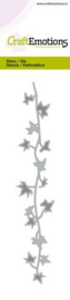 CraftEmotions Die - rand klimop tak Card 5x15cm - 14,5cm 115633/0753