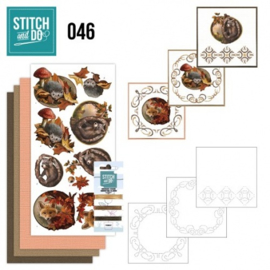 Stitch and Do 46 - Autumn STDO046
