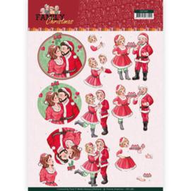 3D Knipvel - Yvonne Creations- Loving Christmas CD11387