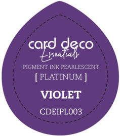 Card Deco Essentials Fast-Drying Pigment Ink Pearlescent Violet CDEIPL003