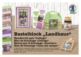 Fotokarton Ursus Landhaus