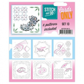 Stitch & Do - Cards Only - Set 13 COSTDO10013