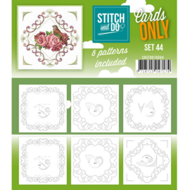 Cards only Stitch 44 - 4k -  COSTDO10044