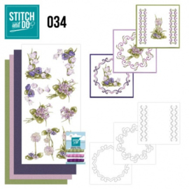 Stitch and Do 34 - Field flowers STDO034