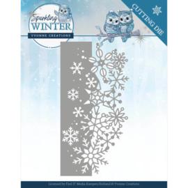 Dies - Yvonne Creations - Sparkling Winter - Sparkling Border YCD10189