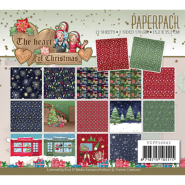 Paperpack - Yvonne Creations - The Heart of Christmas YCPP10042