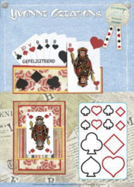 Die - Yvonne Creations - Men - Playing cards CDD10011