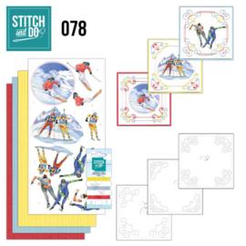Stitch and Do 78 Wintersports STDO078
