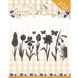 Dies - Precious Marieke - Early Spring - Spring Flowers and Butterfly Dies PM10115