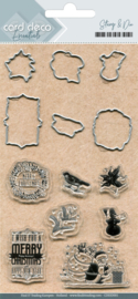 Clear stamps & Cutting Die  CDESD001