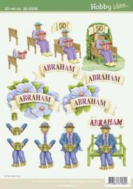 3D Knipvel - Hobbyidee Abraham HI-0058