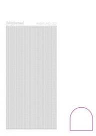 Hobbylines 001 sticker - Adhesive White HLA010